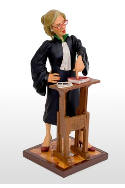 Figurine Avocat Femme (Guillermo Forchino)