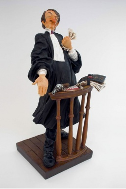 Figurine Avocat Homme (Guillermo Forchino)